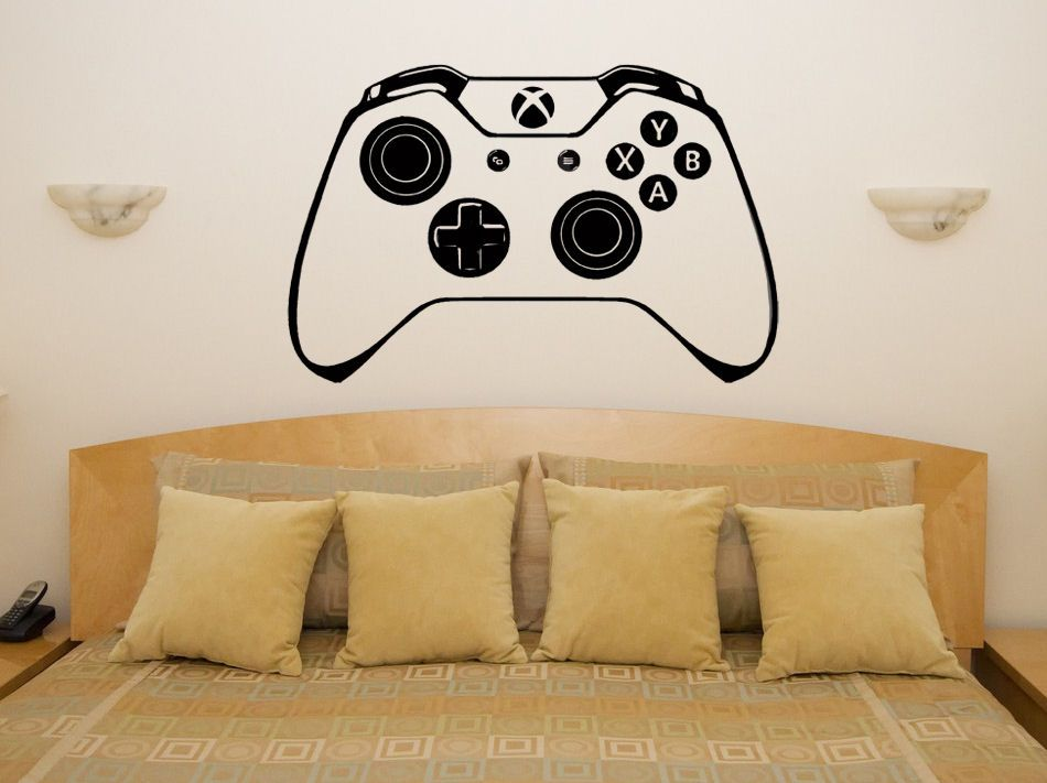 Xbox One Controller Gamepad Children S Bedroom Decal Wall Art