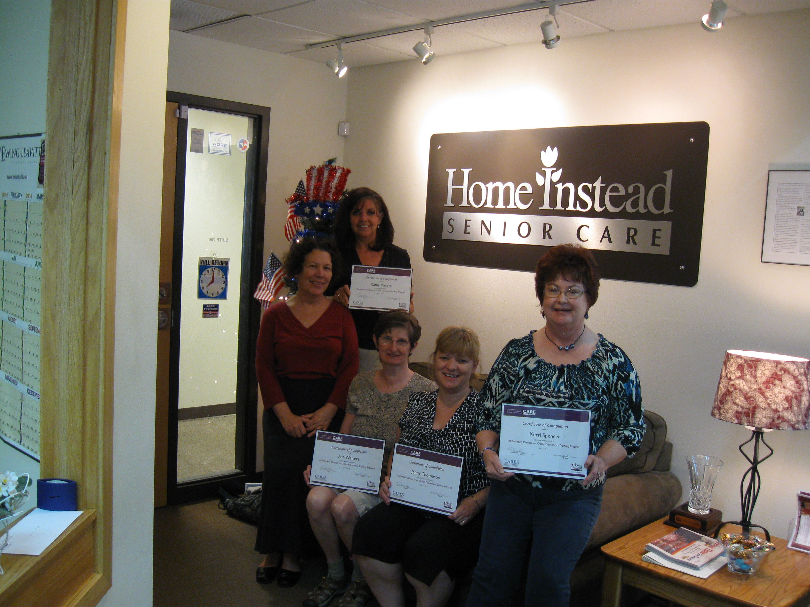 Training  Home Instead Senior Care is always training our