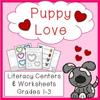 Puppy Love Compound Words Contractions Abc Order Parts Of S Ch