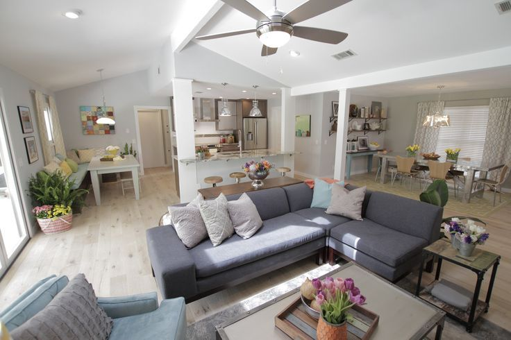 Property Brothers Open Kitchen Living Room Property Brothers