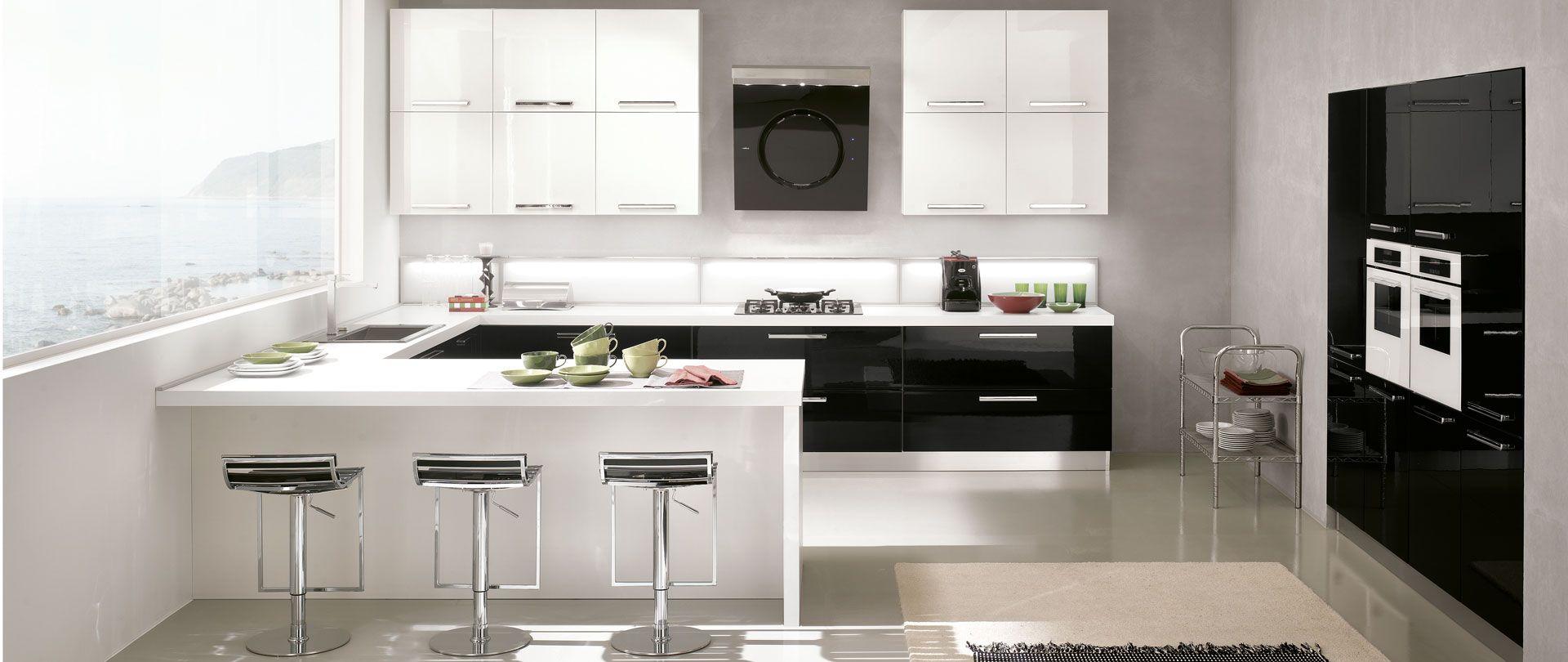 Risultati immagini per cucina a u con isola | cucine | Kitchen, Home ...