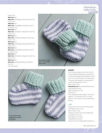 Photo of Love Knitting for Babies 2015 07 : Free Download, Borrow, and Streaming : Internet Archive