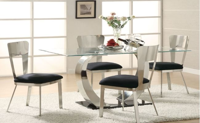 Contemporary Glass Dining Room Tables Magnificent The Way To Modernize Your Dining Room  Dining Room  Pinterest Decorating Inspiration