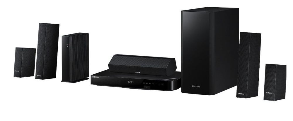 Home theater system samsung subwoofer 51ch 1000w tv