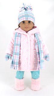 Make your own American Girl Winter Wardrobe #americandolls