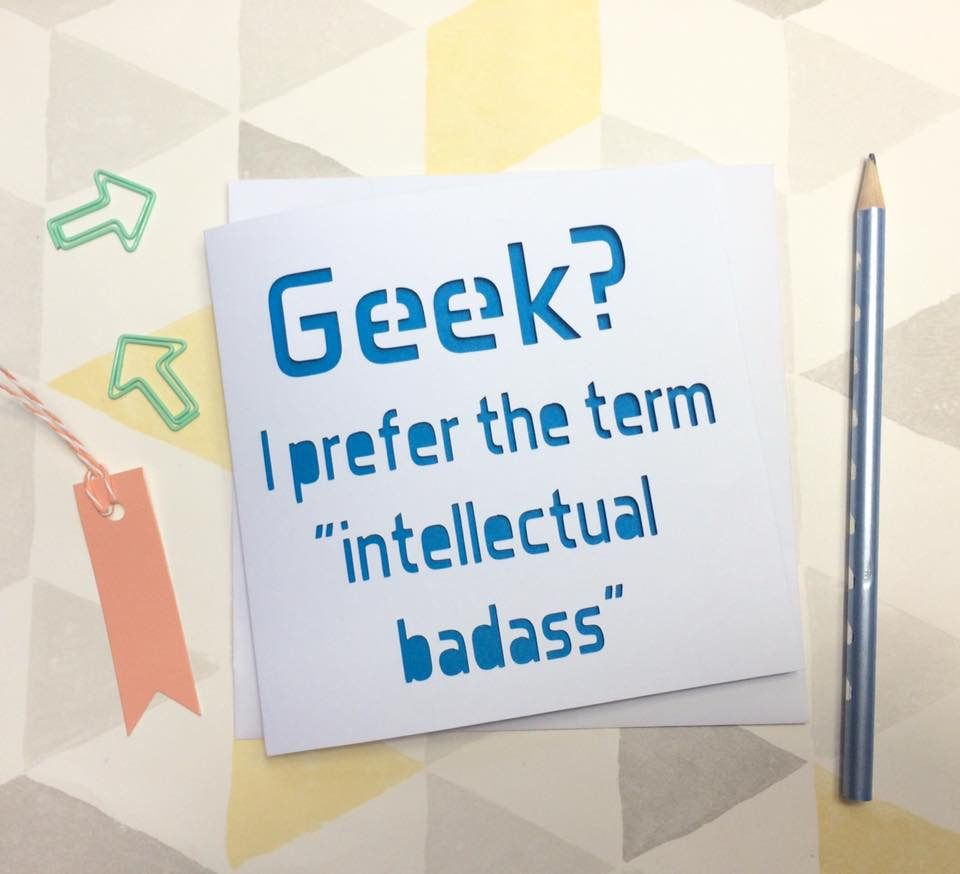 Geek Card Birthday Nerd For Boyfriend Gamer Gift Him By AprilDaysDesigns On