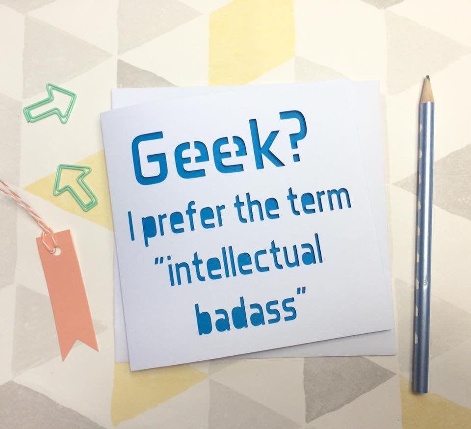 Geek Card Birthday Nerd For Boyfriend