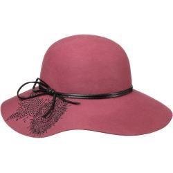 Photo of Lierys Damiana Flower floppy hat gorro de lana gorro de fieltro de lana gorro de mujer Lierys
