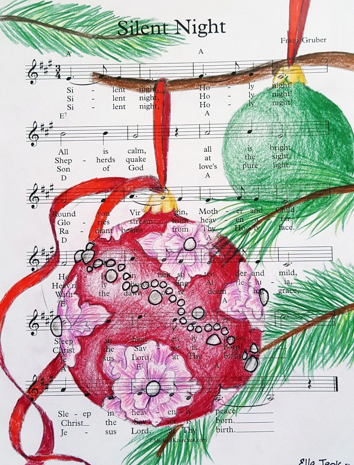 E J 6th Grade Sphere Christmas Ornament Art