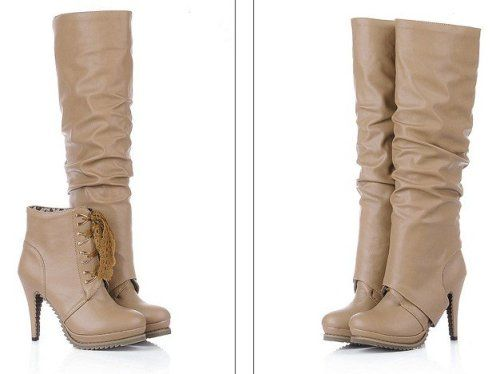 knee high boots women | Boots For Women | Pinterest | High boots ...