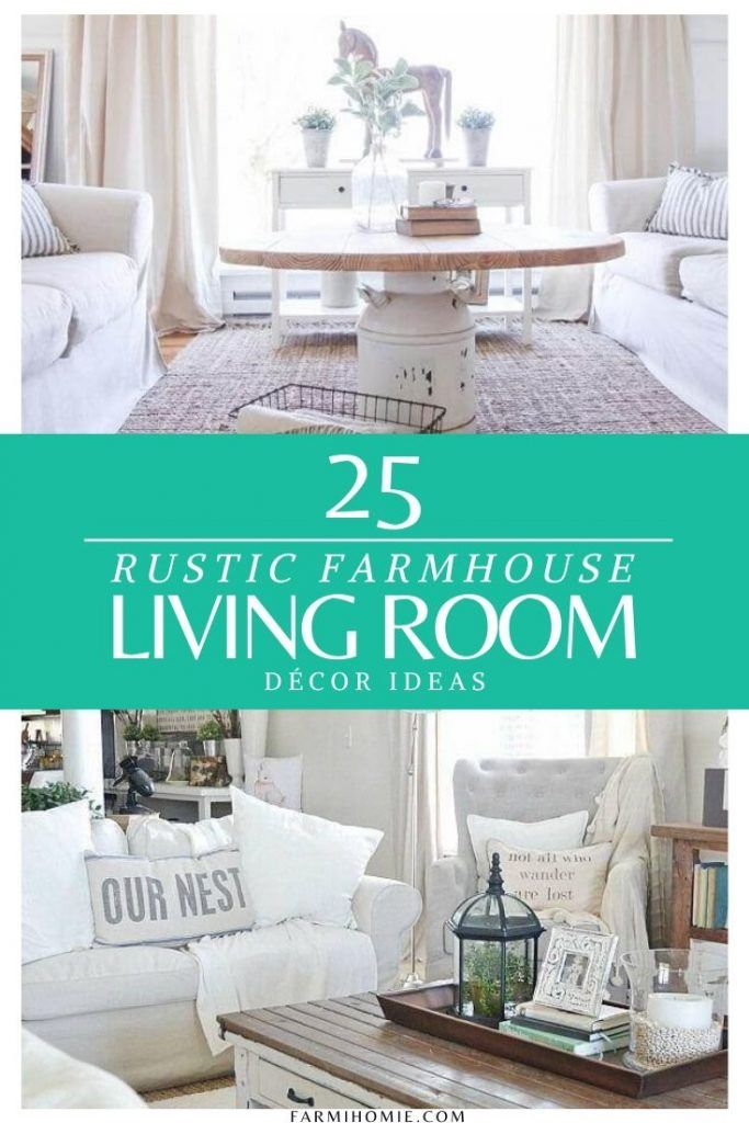 Let's check this article to discover some fantasic rustic farmhouse living room ideas #farmhouse #homedecor #farmhousedecor #rustic #livingroom