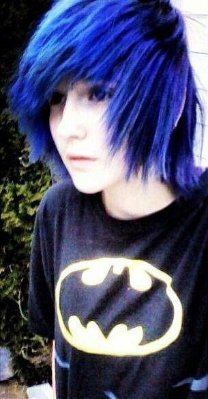 Emo Boy Blue Hair Emo Hair Cute Emo Boys Cute Emo