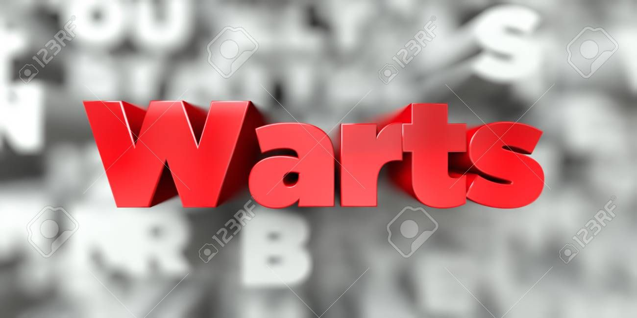 Warts Red Text On Typography Background 3d Rendered Royalty Free Stock Image This Image Can Be Used For An Onl Banner Ads Stock Images Free Website Banner