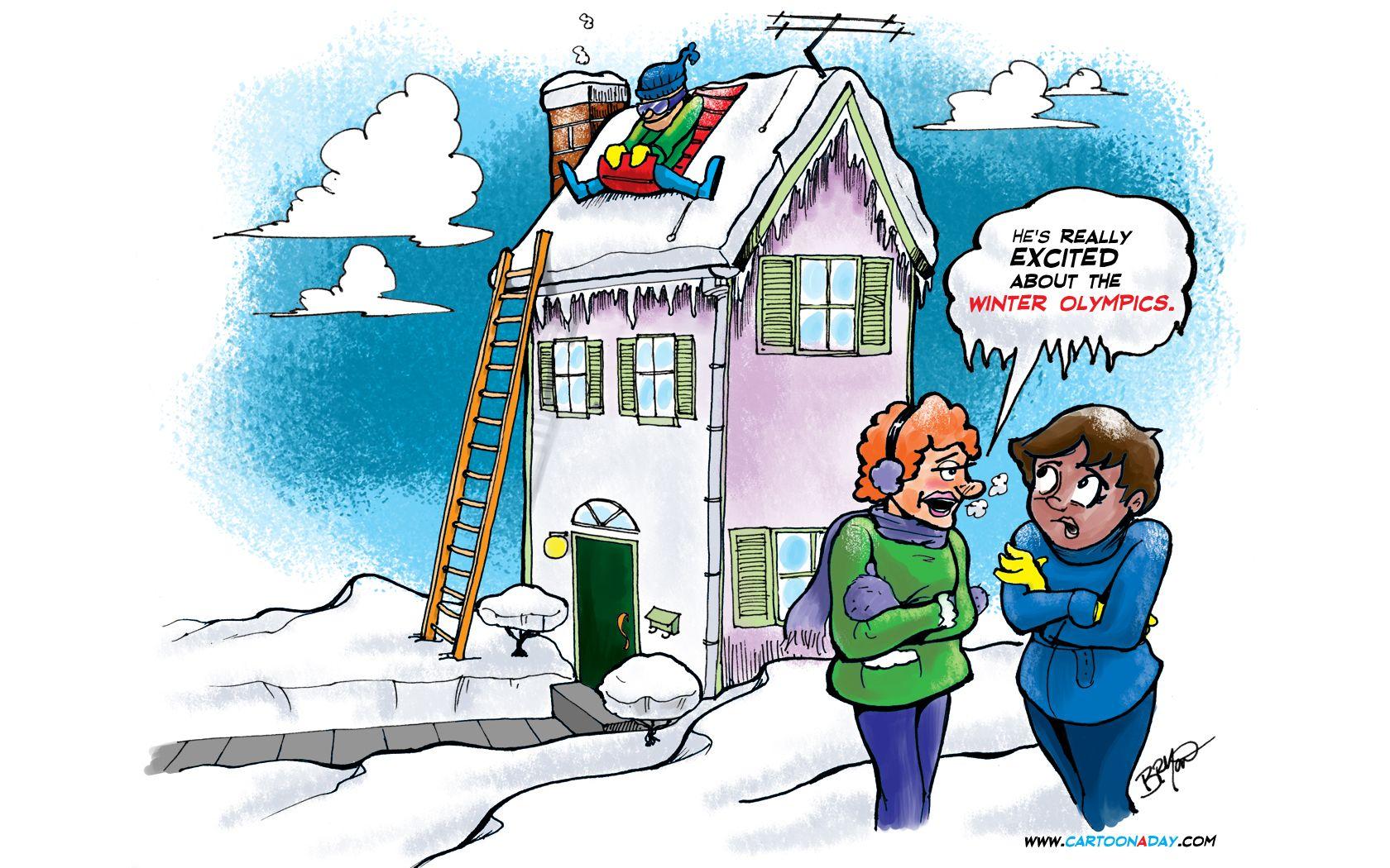winter funny cartoon Googlehaku WINTER funny