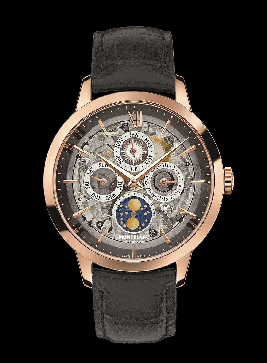 Heritage Spirit Perpetual Calendar Sapphire    6 nuevos relojes Montblanc. 8d2c438d5467