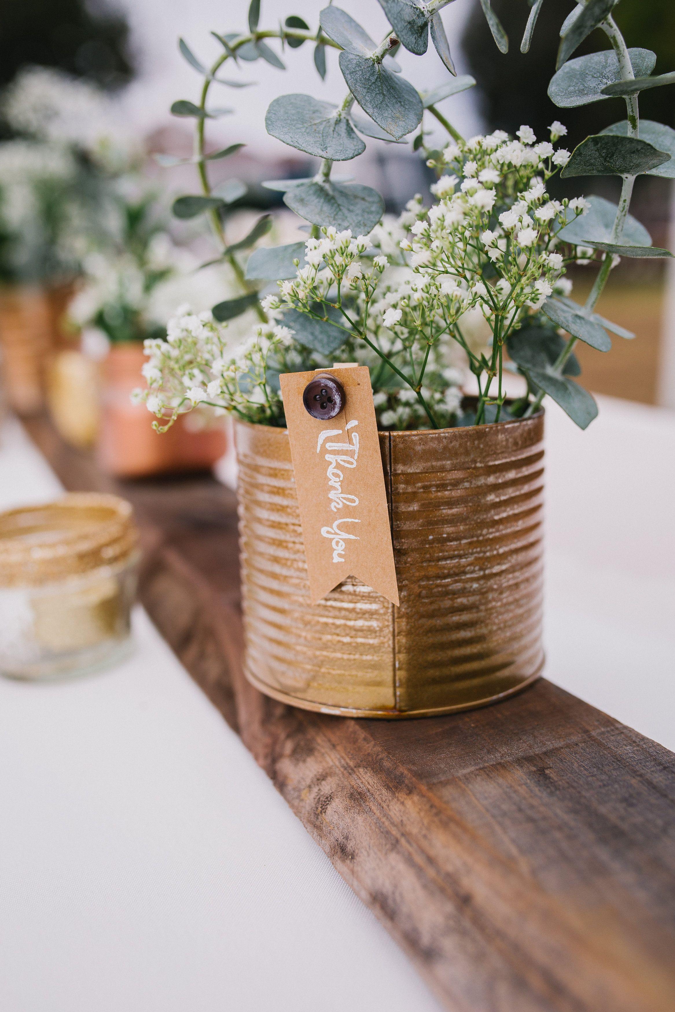Soft And Sweet Rustic Diy Wedding Rustic Wedding Diy Copper Wedding Centerpieces Upcycled Wedding