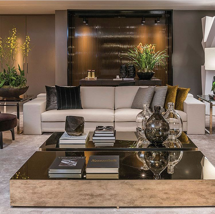 Neutral Modern Luxury Living Room Elegant Living Room Decor