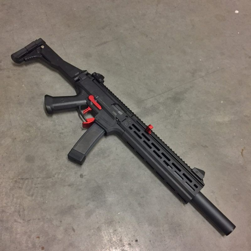 Cz Scorpion Carbine With Hb Industries Hand Guard