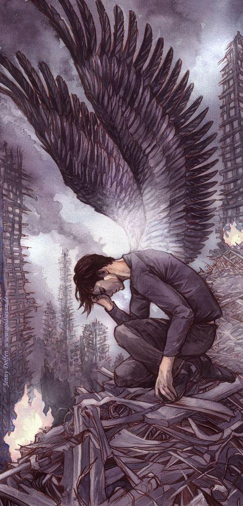 Heroes Angel Drawing Angel Of Death Art