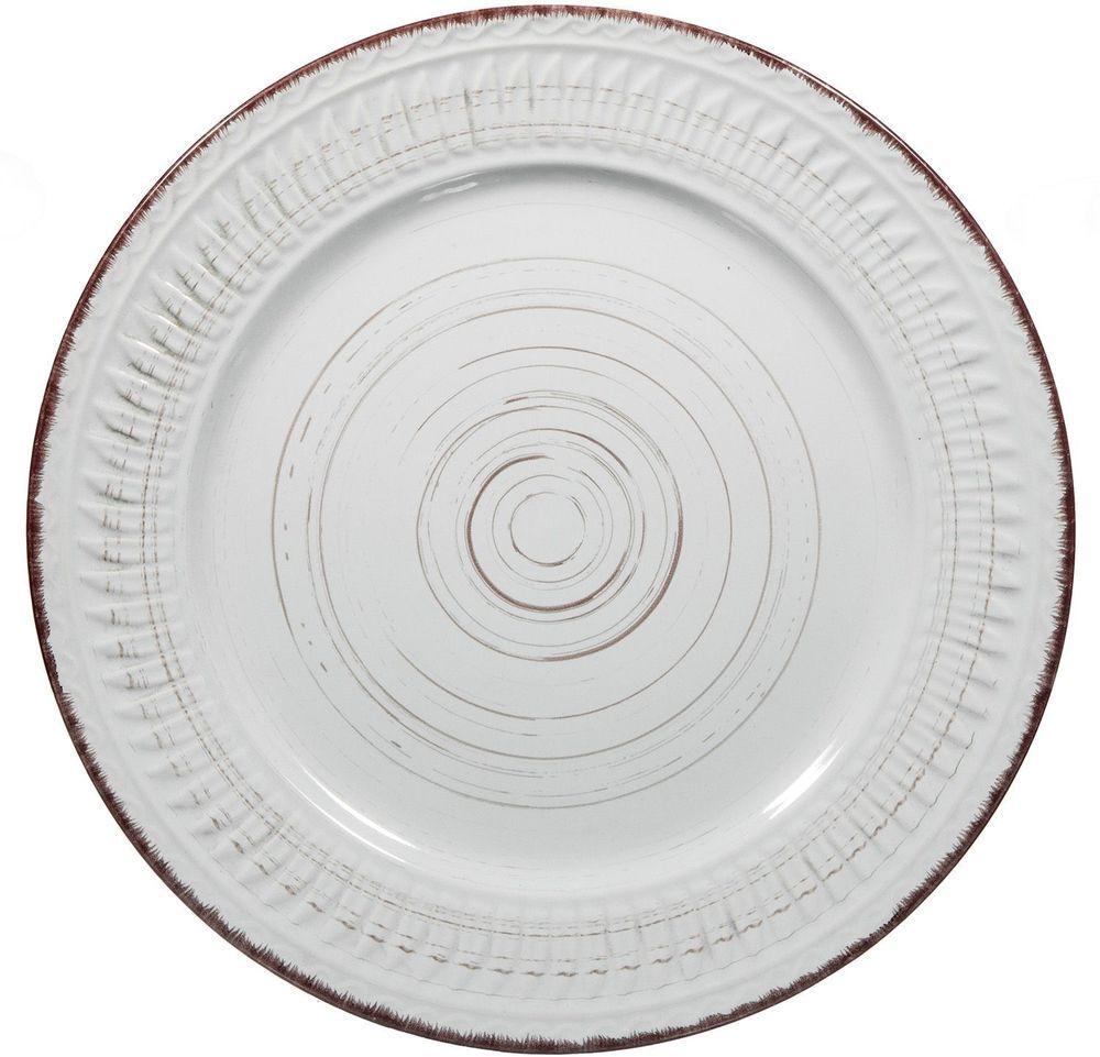 Cosenza White 16 Piece Dinnerware set by Home Essentials #HomeEssentials  sc 1 st  Pinterest & Cosenza White 16 Piece Dinnerware set by Home Essentials ...