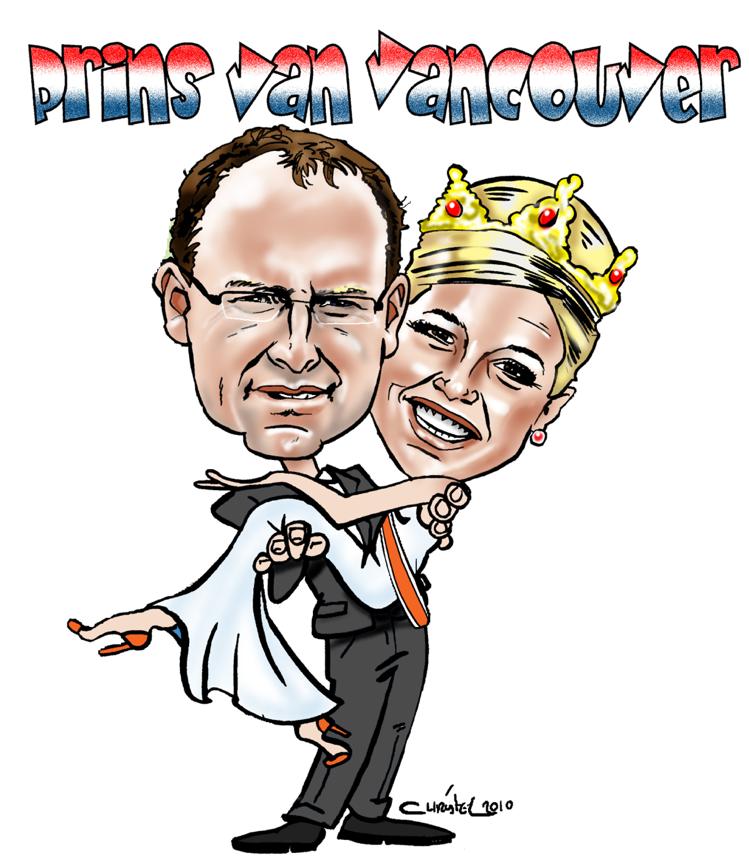 karikatuur cartoon Koningin Maxima Sneltekenaar Christel