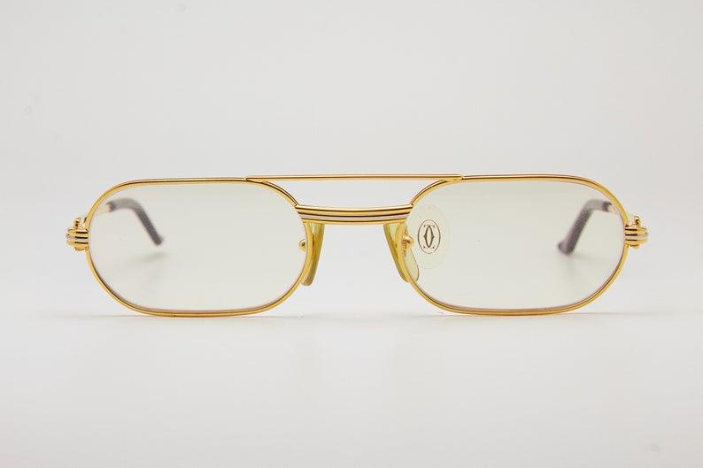 Vintage Sunglasses Cartier Must Louis Serie Limitee Etsy Sunglasses Vintage Vintage Eyewear Eye Wear Glasses