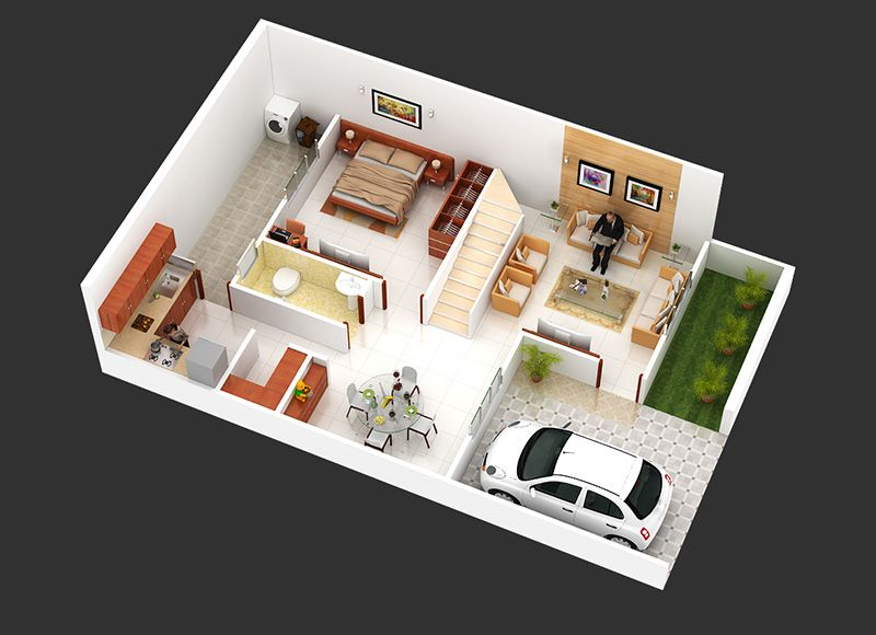 2d 3d Floor Plan Rendering Services Arktek3d Rendered Floor Plan Floor Plans Architectural Floor Plans