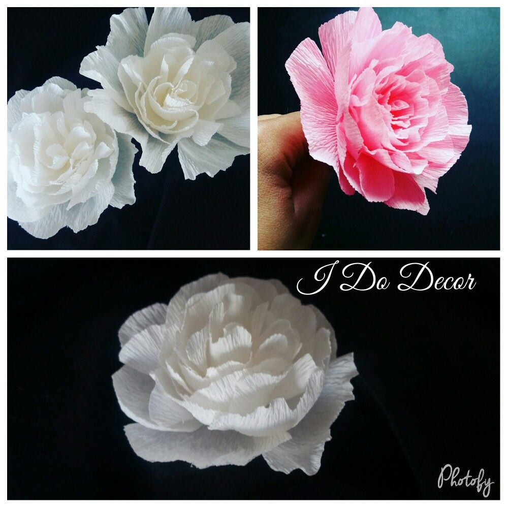 Small Crepe Paper Flowers Paper Flowers Made By I Do Decor Durban