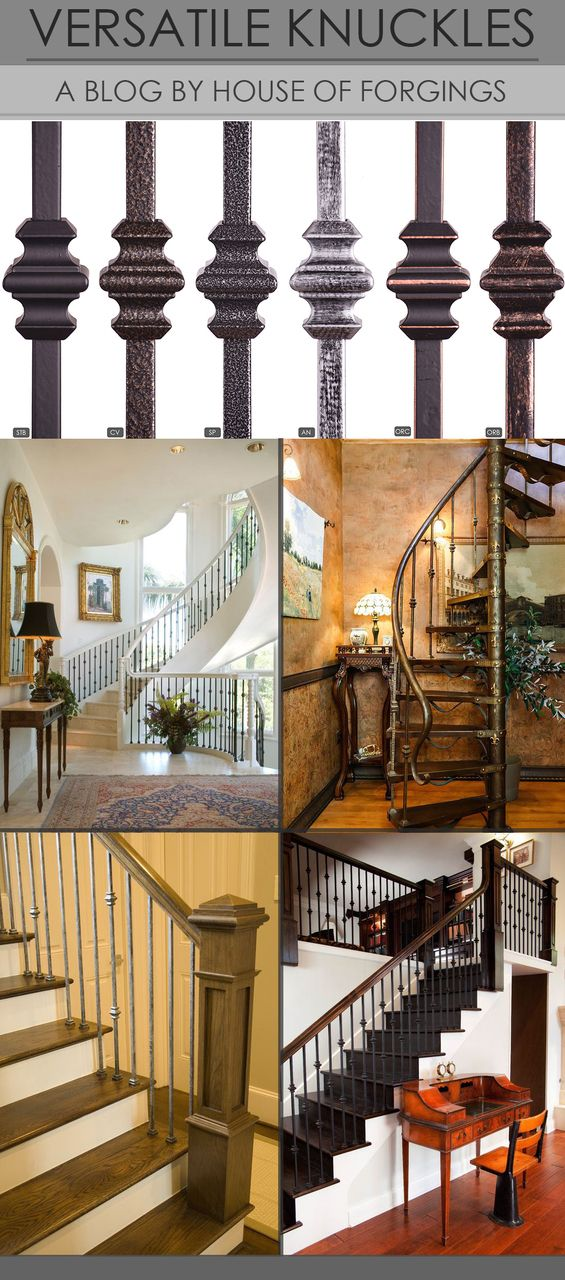 Best The House Of Forgings Knuckle Balusters Offer A Perfect 400 x 300