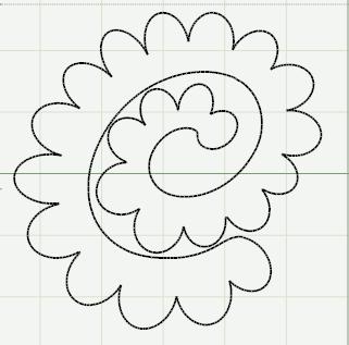 Artes com capricho decore com feltro pap flores de for Rolled paper roses template