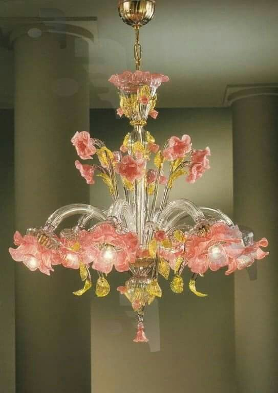 Beautiful Murano Glass Chandelier Glass Chandelier