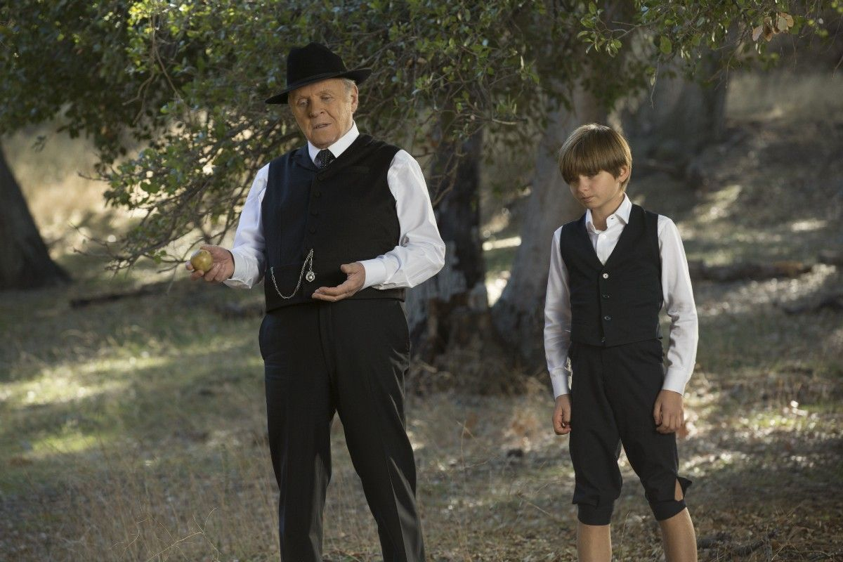 Dr Robert Ford And Young Dr Robert Ford Westworld Hbo