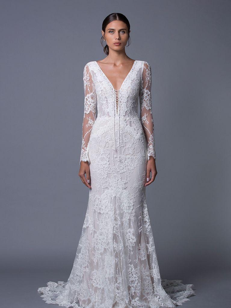 Lihi hod fall romantic whimsical wedding dresses whimsical