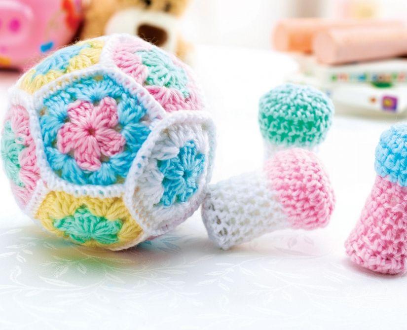 Crochet bowling ball and pins | crochet creations | Pinterest | Häkeln