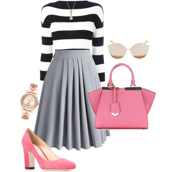 Untitled #664 by spectre11 on Polyvore featuring moda, Boutique Moschino, Chicwish, Jimmy Choo, Fendi, Michael Kors, LE VIAN and Victoria Beckham