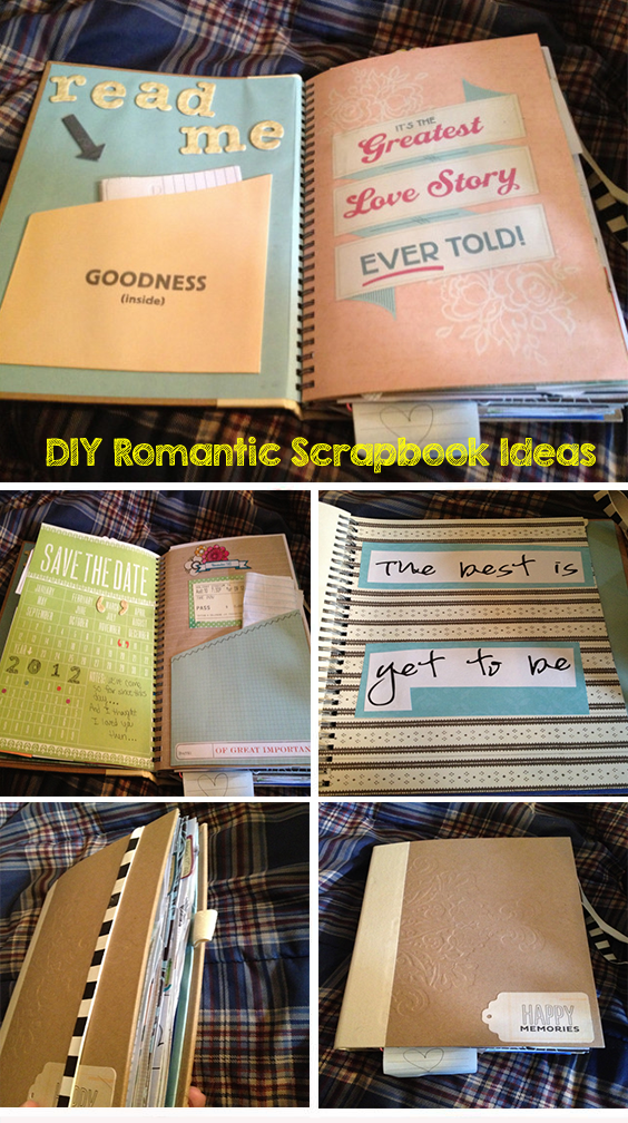 The Story Of Us Diy Romantic Scrapbook Ideas Buy Him That