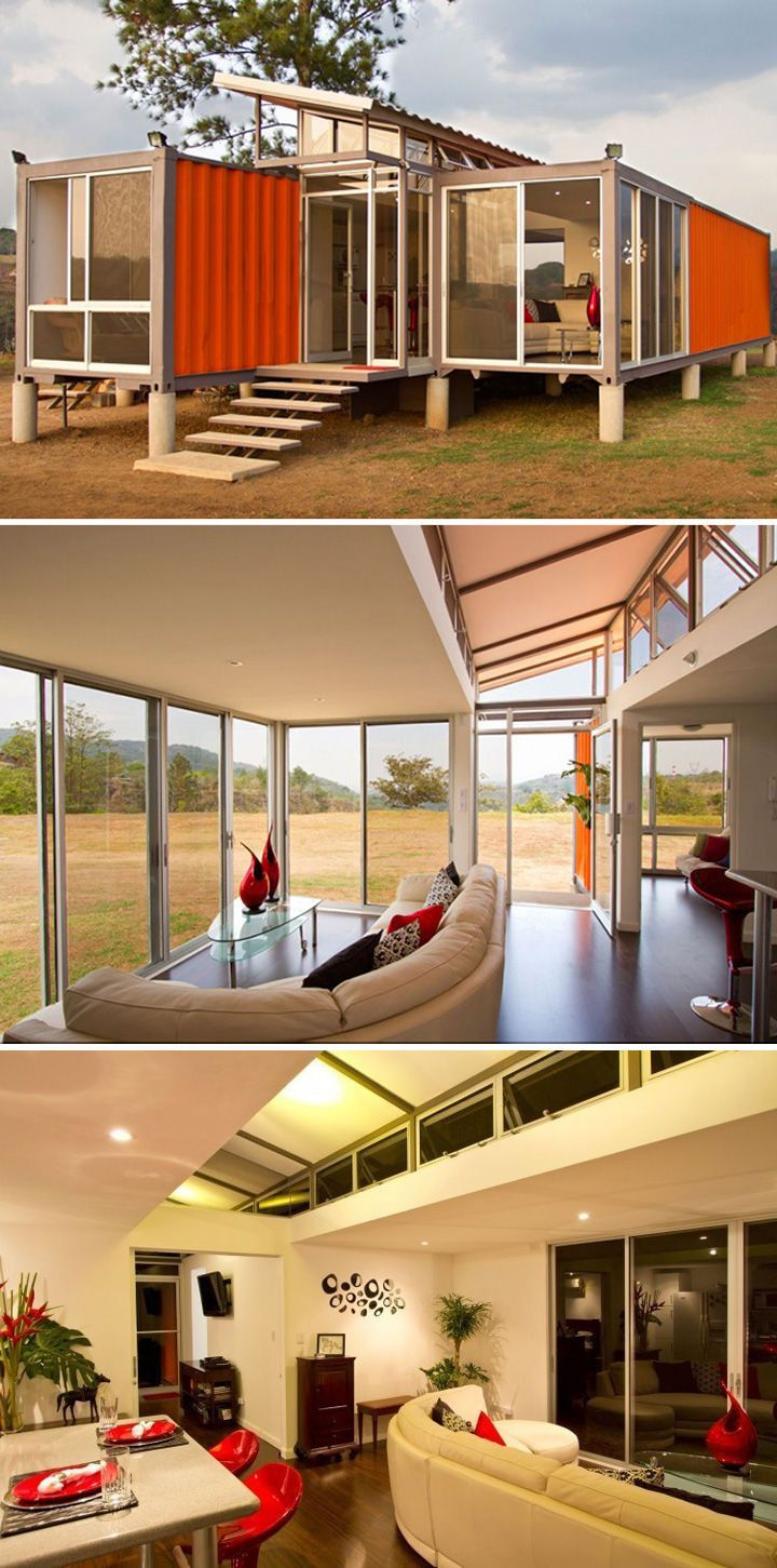 10 Shipping Container Homes That Are Simply Gorgeous Container House Plans Container House Container House Interior