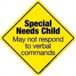 Special Needs Child Emergency Decal. This is cheap & make the difference between life & death for a special needs child.