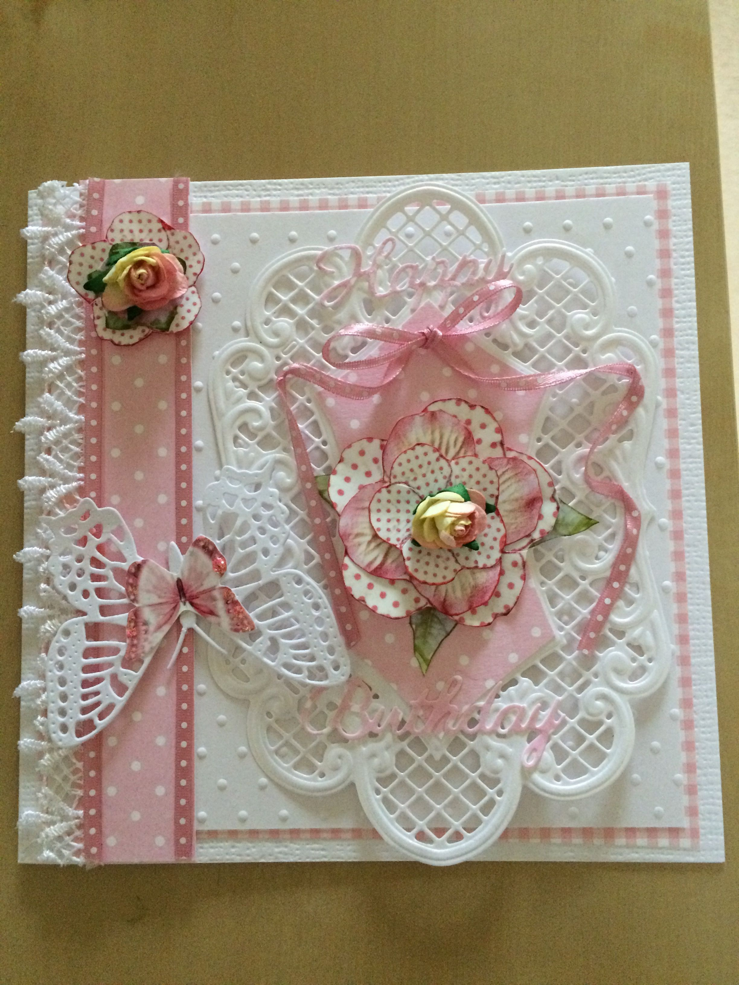 pinkim ward on kimberley rose handmade cards
