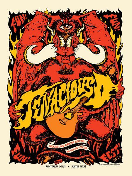 Gigposters Com Tenacious D Music Artwork Band Posters Rock Posters