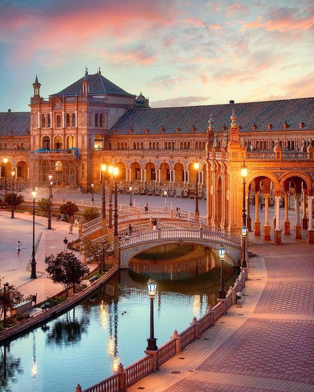 Amazing Places To Go Europe: Soul-of-an-angel: Seville, Spain (Europe)