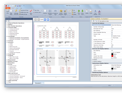 Math Resource Studio 5 Math Printable Math Worksheets Math Resources