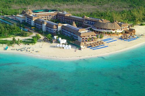 Reef Coco Beach Now Called Grand Bay Playa Del Carmen Mexico