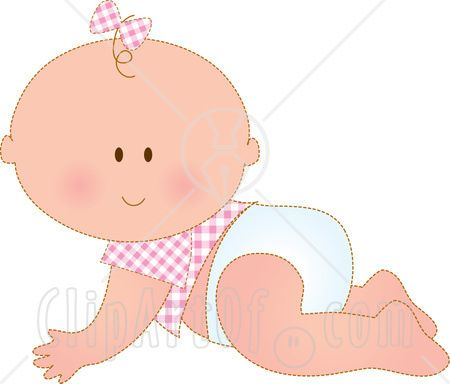 Baby-girl-clipart-3 | clipart | Pinterest | Baby shower ...