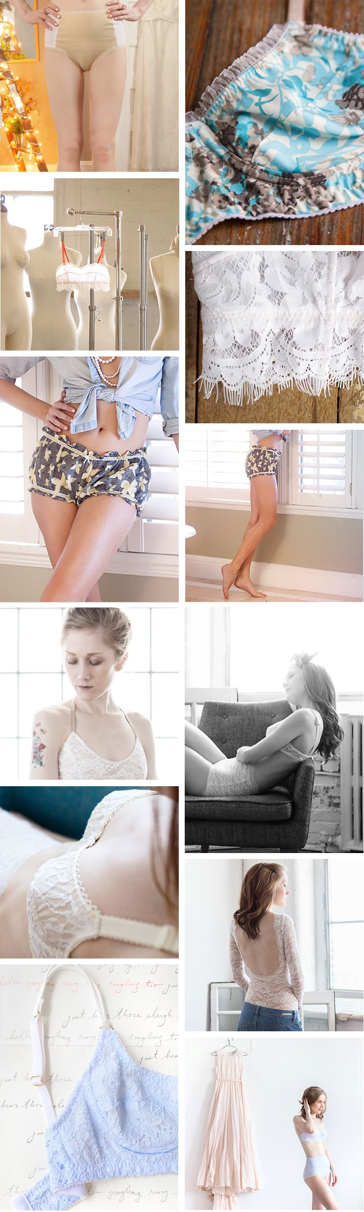 Madalynne Intimates and Lingerie - Bralettes to Buy & Sew ...