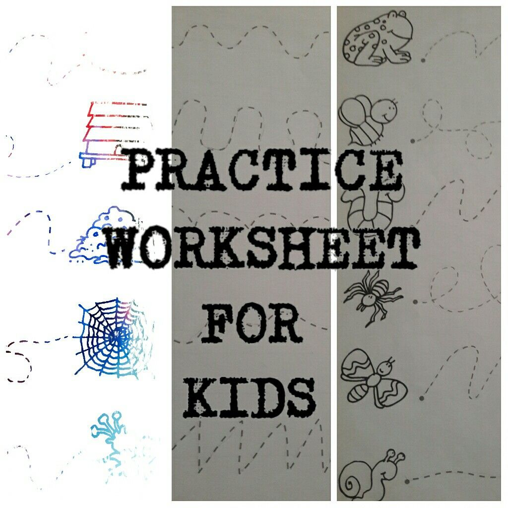 Fine Motor Skills Practice Worksheet In