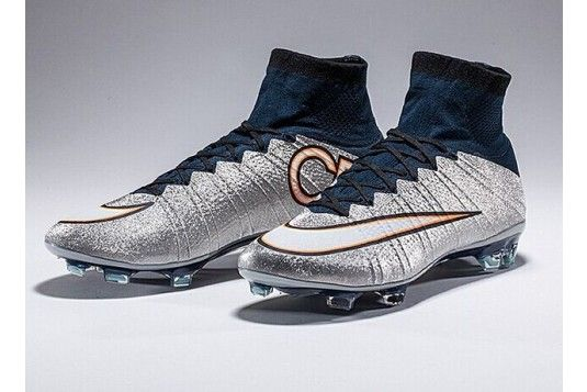 new arrival ce459 a5f99 nike mercurial superfly cr fg metallic silver   2015 Nike Mercurial  Superfly CR7 Silverware FG Football Boots