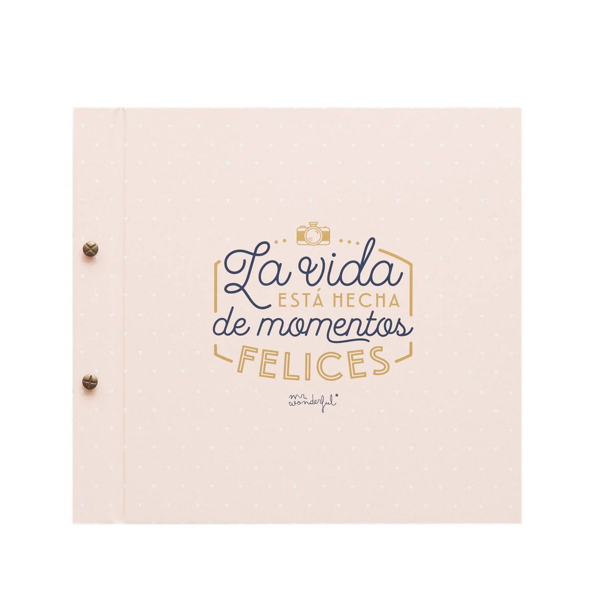 Lbum Mr Wonderful La Vida Est Hecha De Momentos Felices  ~ Comprar Agenda Mr Wonderful El Corte Ingles