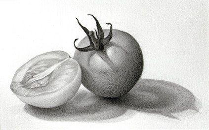 This Is A Strong Example Of A Simple Still Life Drawing With A