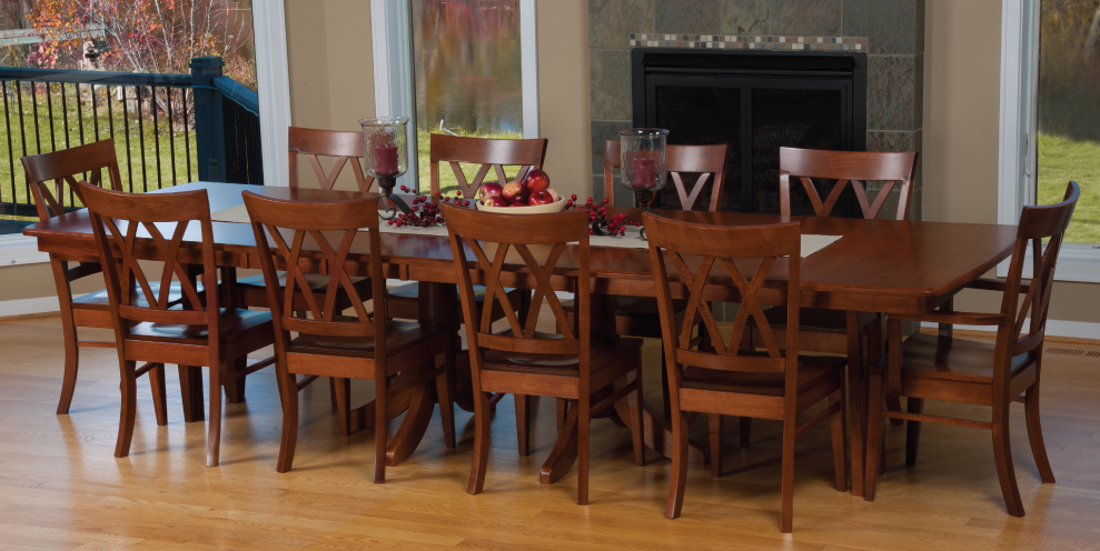 8 person farmhouse table - Google Search | Home: home sweet home ...